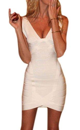 Pinkyee PKY1509150768 - Vestido para mujer 139114-White