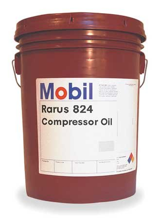 Mobil Rarus 824, Compressor, 5 gal., ISO 32 by Mobil