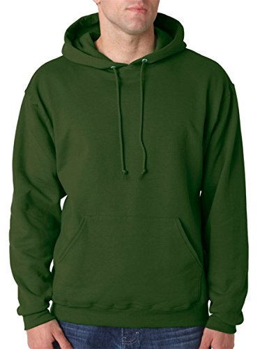 Jerzees Men's NuBlend Youth Hooded Sweat - Army Military Hooded Sweatshirt Shopping Results