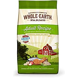 Whole Earth Farms Natural Dry Dog Food; Adult Recipes & Puppy Recipes