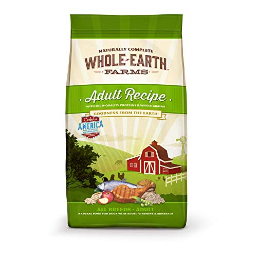 (Whole Earth Farms Natural Dry Dog Food; Adult Recipe )