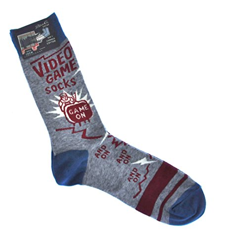 Blue Q Mens Novelty Crew Socks -...