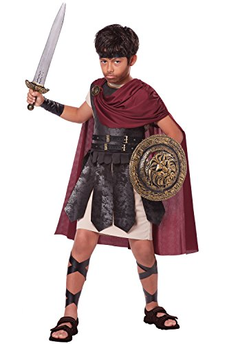 California Costumes Spartan Warrior Costume, One Color, 8-10