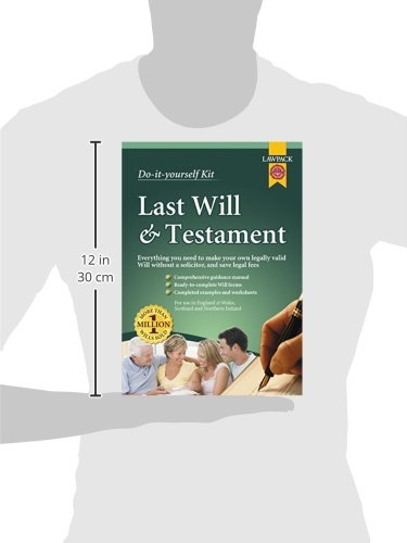 Last will testament kit do it yourself kit amazon last will testament kit do it yourself kit amazon eason rajah qc richard dew neill clerk murray 9781909104082 books solutioingenieria