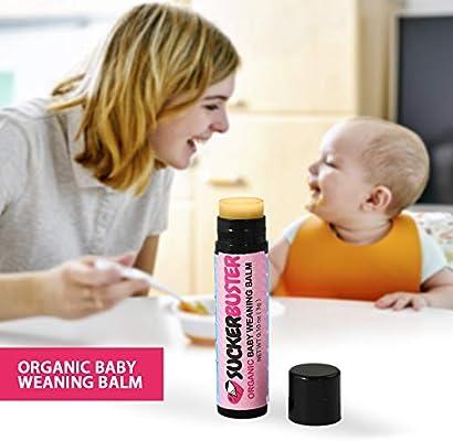 Suckerbuster Organic Baby Weaning Balm stick.10 oz (3g) Stop Breastfeeding/Pacifier Cream