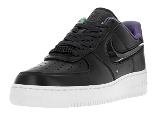 nike Air Force 1 07 LV8 AS QS Mens Trainers 840855 Sneakers Shoes (US 9, black black white 001) (Nike Light Up Shoes)