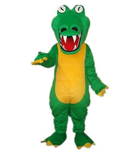 MascotShows Big mouth Crocodile Alligator Adult Mascot Costume Adult Size - Adult Alligator Costumes