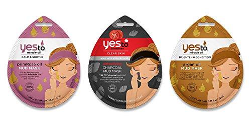 Price comparison product image Yes To Mud Mask Bundle (6 Single Use Masks - 2 of each)