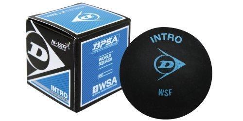 Dunlop Intro Beginner Squash Ball-Dozen