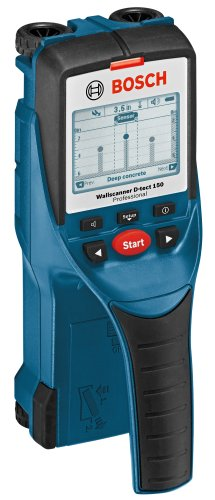 Bosch D-Tect 150 Wall and Floor Scanner with Ultra Wide Band Radar Technology ()