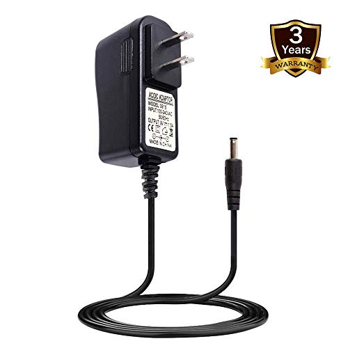 STRIVY 9V AC/DC Adapter for Hurricane Spin Scrubber Brush Rechargeable Turbo Scrubber TeleBrands Corp Hurricane Spin Scrubber Brush HSS1 HSSI JF-DY085030 Battery Charger (Brush Adapters)