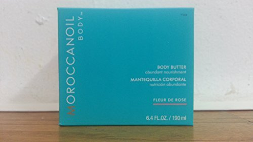 Moroccanoil Body Butter Abundant Nourishment, Rose 6.4 Ounce