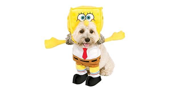 Rubies Disfraz de Bob Esponja Cuadrada Disfraz para Mascota ...