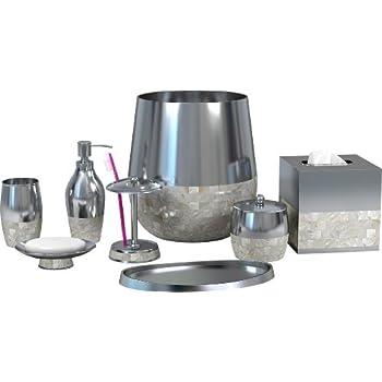 50%OFF Nu Steel Triune Bathroom Accessories Set ,7-Piece