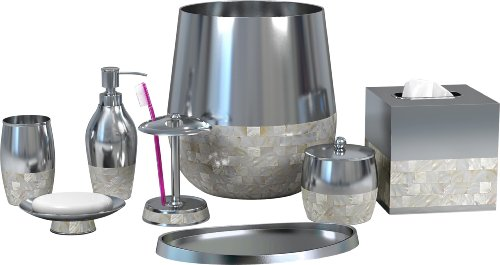 nu steel Jakarta 8-Piece Bath Accessories Set by nu steel