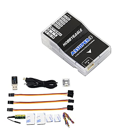 HOBBYEAGLE A3 Super 3 6-Axis Gyro RC Flight Controller Stabi