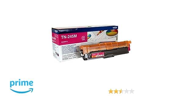 Brother TN245M - Cartucho de tóner magenta original de larga ...