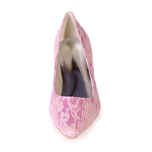 L@YC Damen Hochzeit Schuhe & 0723-01A / abend / Wies Professionelle Bekleidung Party / Mehr Farben ErhäLtlich Pink