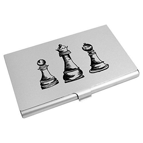 Azeeda Wallet Trio' Holder Piece CH00007829 Credit Business Card 'Chess Card rW8nRPqra