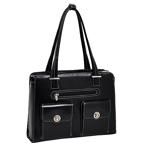 Mcklein USA Verona, Leather Checkpoint Friendly Laptop Briefcase - 15.4'' - 96625 by McKleinUSA