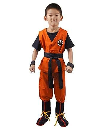 Dragon Ball Son Goku Kids Cosplay Costume (S)