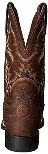 Tony Lama Mens Carotatore 11 Altezza (rr3214) | Piede Marrone Pitstop | Stivali Western Pullon | Stivale Di Pelle Da Cowboy Marrone | Realizzato A Mano Negli Stati Uniti
