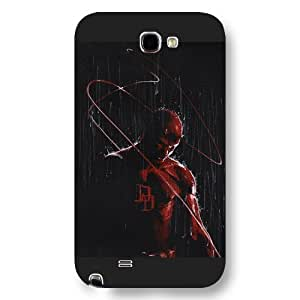 UniqueBox Customized Marvel Series Case for Iphone 5/5S, Marvel Comic Hero Daredevil Iphone 5/5S, Only Fit for Iphone 5/5S (Black Frosted Case)