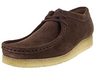 CLARKS Originals Men's Dark Brown Suede Wallabee 11 D(M) US (B010EAO6J6) | Amazon price tracker / tracking, Amazon price history charts, Amazon price watches, Amazon price drop alerts