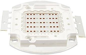 Led Cob 50W Coltivazione Piante e Fiori Grow Led Chip 1750mA DC 22-25V Spettro 440nm-660nm Per Fiorai Agricoltori