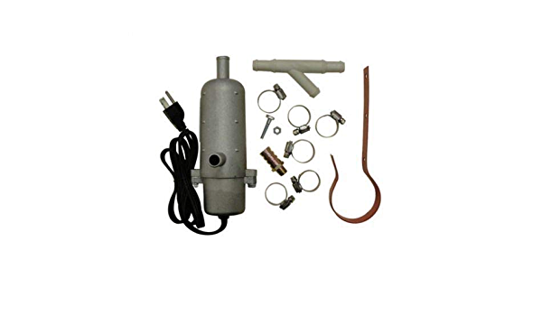 Kat/'s External Tank Engine Heater Kit Thermostatically Controlled 2000 Watt 240V