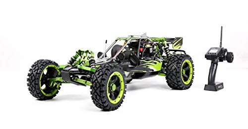 (MZL Remote Car Rock Crawler 1:5 high with Adult Fuel Remote Control Model/Double Row Silencer Exhaust Pipe / 45cc Single Cylinder/Four-Way Fixed Gasoline Engine (Professional)