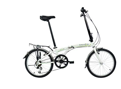 "Dahon 2019 SUV D6 Deltec White 20"" Wheel Folding Bike, used for sale  Delivered anywhere in USA"