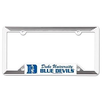 Amazon.com : Duke Blue Devils NCAA License Plate Frame : Automotive ...