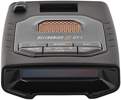 Beltronics GT1 - Radar/Laser Detector, Fewer False Alerts, Supercharged Detection, OLED Display, Bluetooth, Escort Live, Voice Alerts, Police Alerts