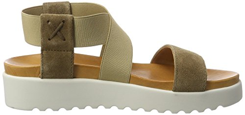 Apple of Eden Damen Deia Sandalen Grau (Taupe)