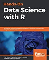 Hands-On Data Science with R Front Cover