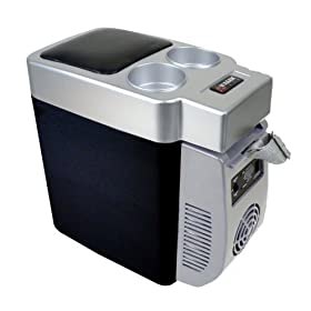 SD Portable 6L Mini Car Freezer Cooler Warmer Refrigerator Travel Cooler Box US