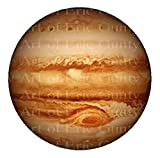 1/2 Sheet - Jupiter Solar System Planet Birthday - D22392 - Edible Cake/Cupcake Party Topper