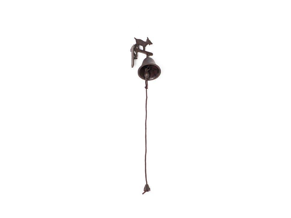 Petit Antique cloche en fonte–Chèvres Motif Luxus Pur UG
