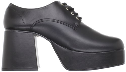 Funtasma Da Pleaser Mens Jazz-02 Piattaforma Oxford Poliuretano Nero