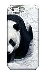 Ernest Burke Scratch-free Phone Case For Iphone 5/5s- Retail Packaging - Panda by icecream design