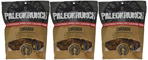 Steve's PaleoGoods Cinnamon PaleoKrunch Cereal 7.5oz (Pack of 3)
