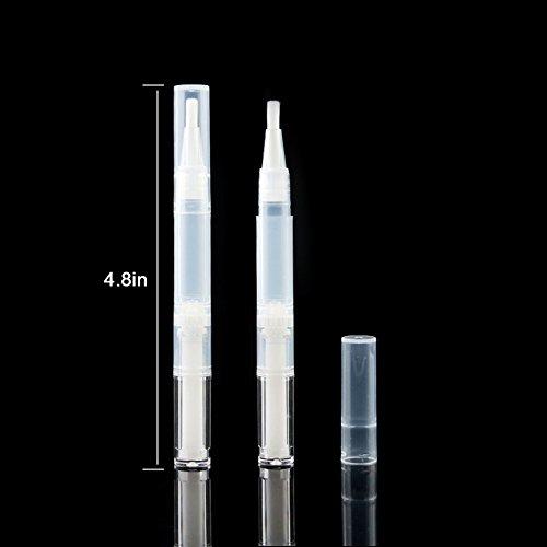 0c6146a9c9c3 3ml Empty Transparent Twist Pen with Brush and Plastic Dropper ...