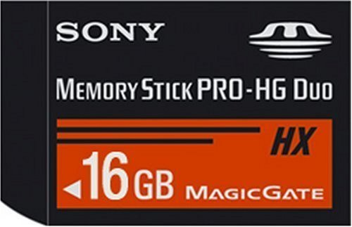 Electronics Memory Stick Pro Duo, 16Gb, Black (Accessories) (Renewed) by Sony