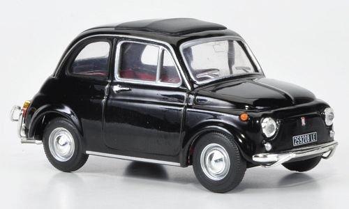 Vitesse 1:43 1968 Modellauto Fiat 500 L schwarz Fertigmodell
