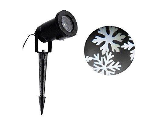 屋外 室内 クリスマス 飾りライト 投影雪花 ガーデンプロジェクター イルミ...