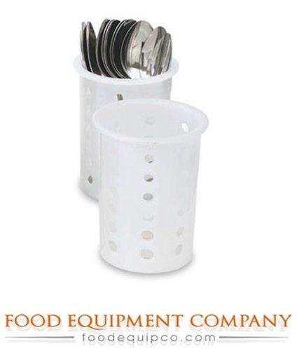 Vollrath 52633 Black Plastic Flatware Cylinder - Case Of ()