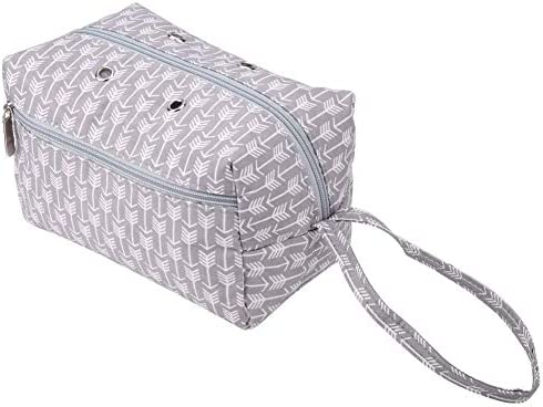 Knitting Bag, Yarn Tote Tote Bag Canvas Yarn Storage Organizer for Yarn Skeins Crochet Hooks, Knitting Needles for Household Craft Gift