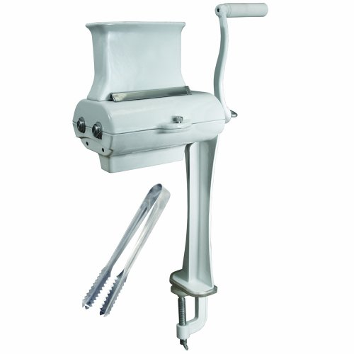 Weston Manual Cuber/Tenderizer (07-4101-W-A), Coated Cast Aluminum Construction, Includes Tongs from Weston