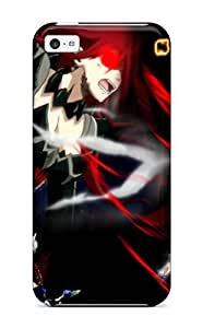 New Fashionable HermanLWilliams MFlTnKK7732kcWHE Cover Case Specially Made For Iphone 5c(erza Scarlet)